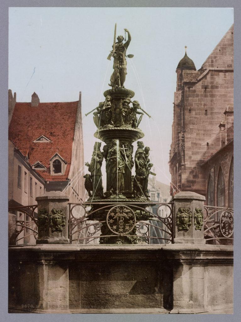Nürnberg. Tugendbrunnen
