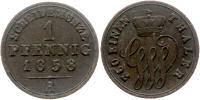 1 Pfennig, Schaumburg-Lippe 1858