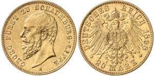 20 Mark, Schaumburg-Lippe 1898