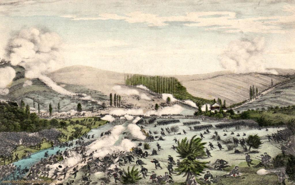 Schlacht bei Langensalza am 27 Juni 1866