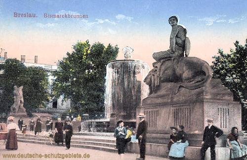 Breslau, Bismarckbrunnen