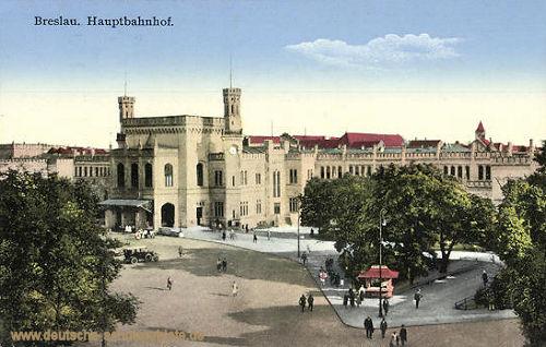 Breslau, Hauptbahnhof
