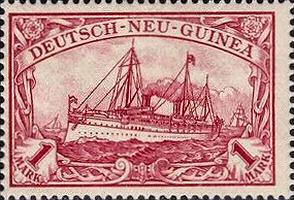 Deutsch-Neu-Guinea Nr. 16, 1 Mark