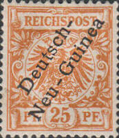 Deutsch-Neu-Guinea Nr. 5, 25 Pfennig