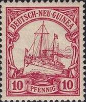 Deutsch-Neu-Guinea Nr. 9, 10 Pfennig