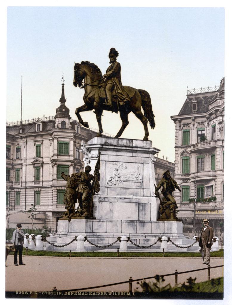 Stettin, Denkmal Kaiser Wilhelm I.