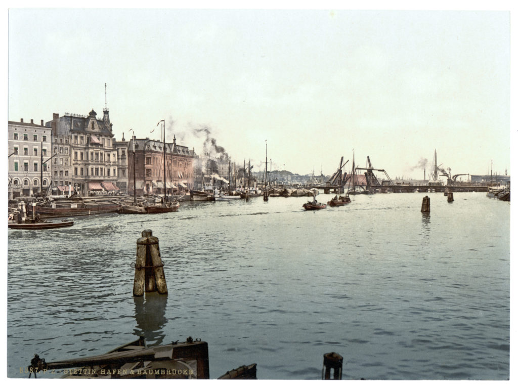 Stettin, Hafen & Baumbrücke