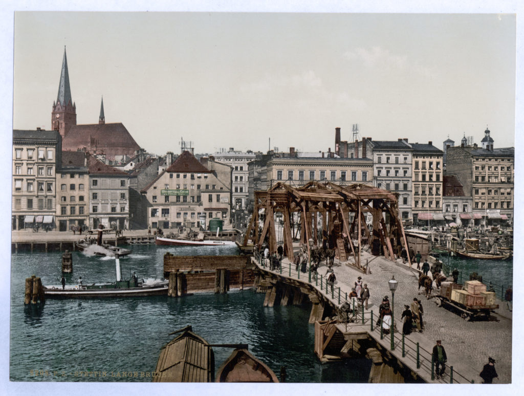 Stettin, Lange Brücke