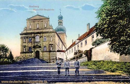 Amberg, Maria-Hilf-Bergkirche