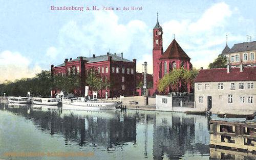 Brandenburg a. H., Partie an der Havel