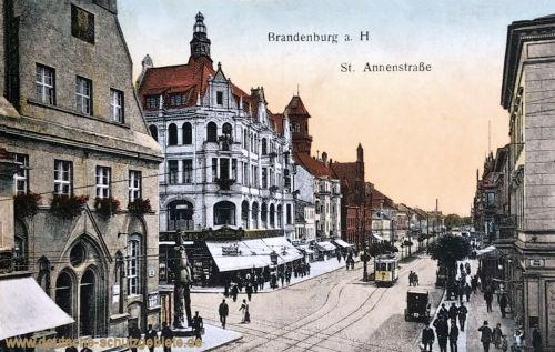 Brandenburg a. H., St. Annenstraße