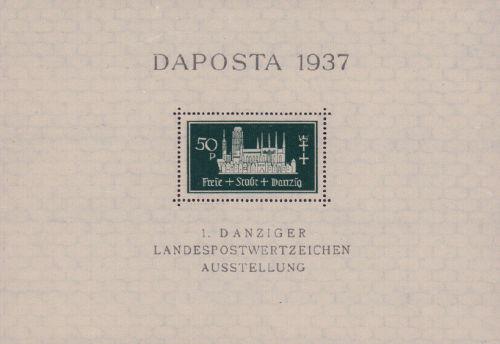 Danzig, DAPOSTA 1937