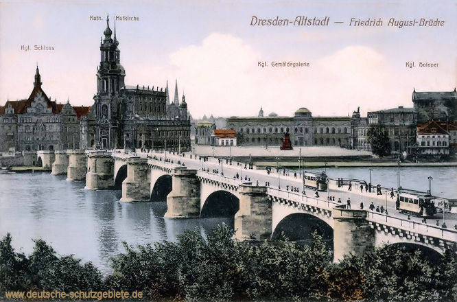 Dresden-Altstadt, Friedrich August-Brücke