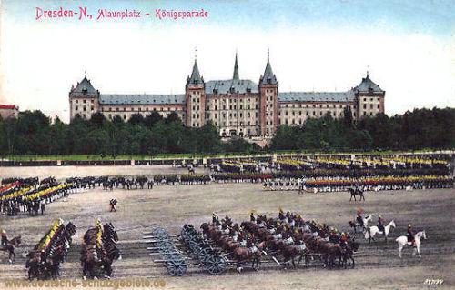 Dresden-N., Alaunplatz Königsparade