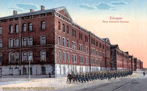 Erlangen, Neue Infanterie-Kaserne