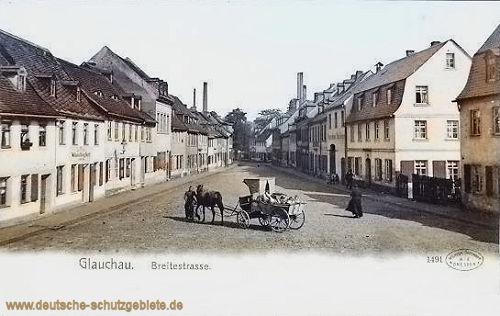 Glauchau, Breite Straße