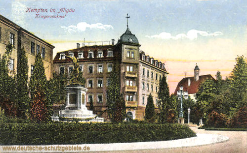 Kempten, Kriegerdenkmal