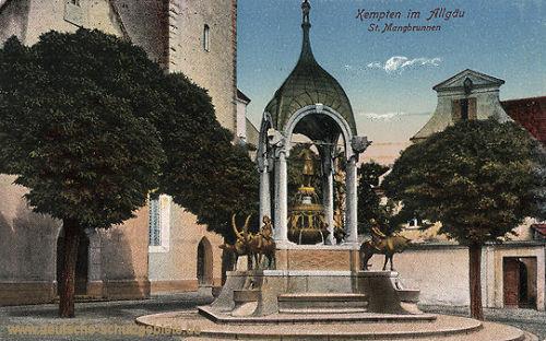 Kempten, St. Mangbrunnen