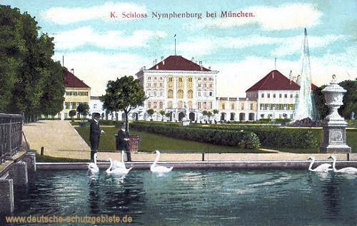 Königliches Schloss Nymphenburg bei München