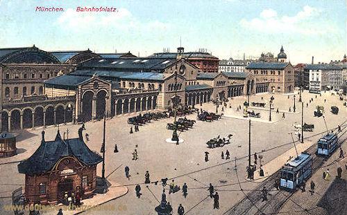 München, Bahnhofsplatz