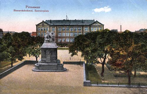 Pirmasens, Bismarckdenkmal, Exerzierplatz