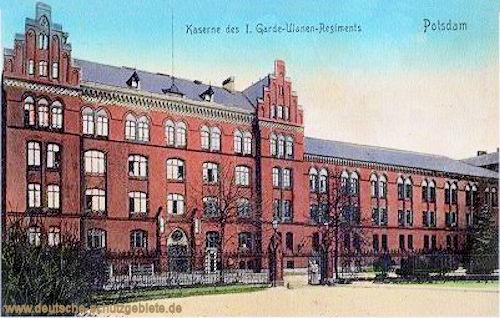 Potsdam, Kaserne des I. Garde-Ulanen-Regiments