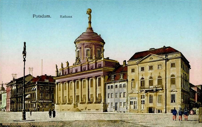 Potsdam, Rathaus