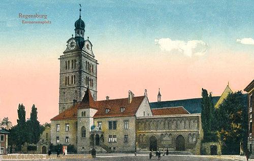 Regensburg, Emmeramsplatz