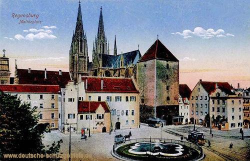 Regensburg, Moltkeplatz