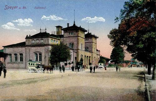 Speyer, Bahnhof