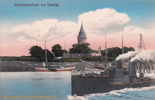 Weichselmünde bei Danzig