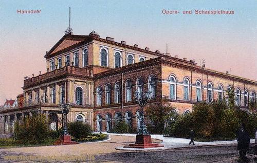 Hannover, Oper- und Schauspielhaus