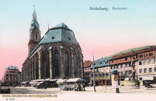 Heidelberg, Marktplatz