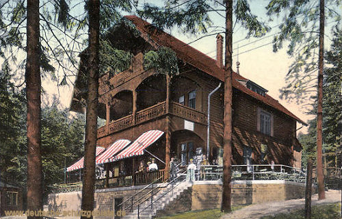 Heidelberg, Restaurant auf dem Königstuhl