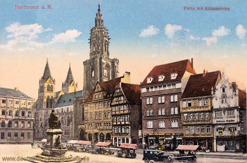 Heilbronn, Partie mit Kilianskirche