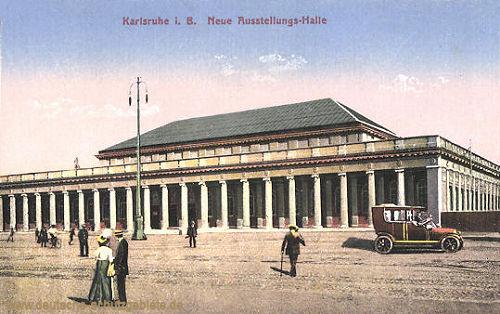 Karlsruhe, Neue Ausstellungs-Halle