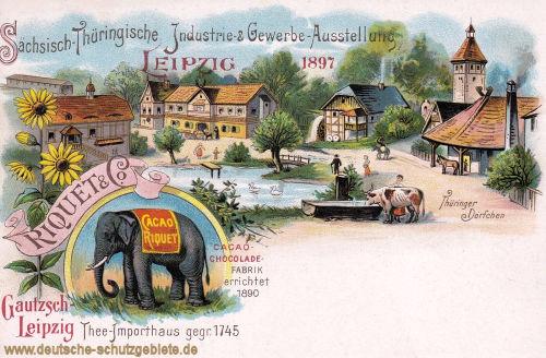 Leipzig, Sächsisch-Thüringische Industrie- & Gewerbe-Ausstellung 1897