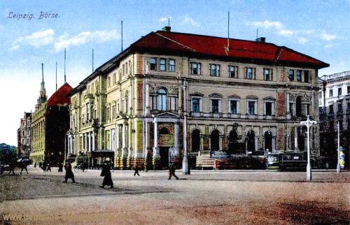 Leipzig, Neue Börse