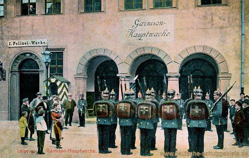 Leipzig, Garnison-Hauptwache