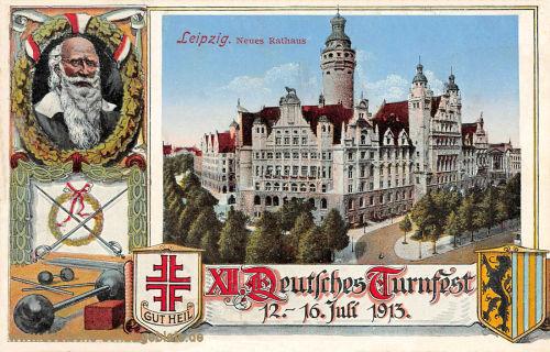 Leipzig, Neues Rathaus 1913