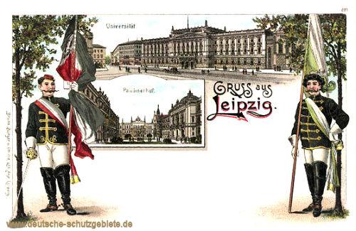 Leipzig, Universität und Paulinerhof