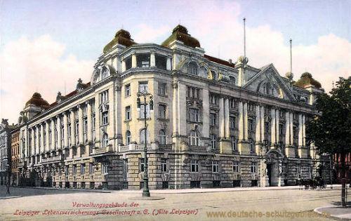 Leipzig, Verwaltungsgebäude der Leipziger Lebensversicherungsgesellschaft e.V. (Alte Leipziger)