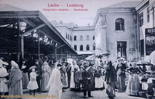 Lemberg, Markthalle