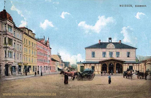 Meißen, Bahnhof