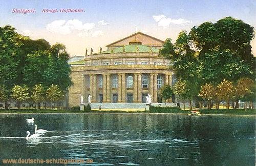 Stuttgart, Königliches Hoftheater