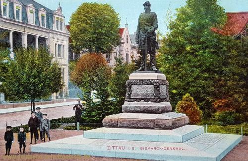 Zittau, Bismarck-Denkmal