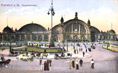 Frankfurt a. M., Hauptbahnhof