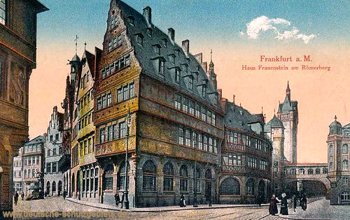 Frankfurt a. M., Haus Frauenstein am Römerberg