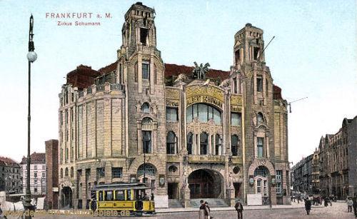 Frankfurt a. M., Zirkus Schumann