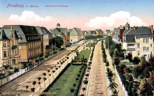 Friedberg in Hessen, Mainzertoranlage